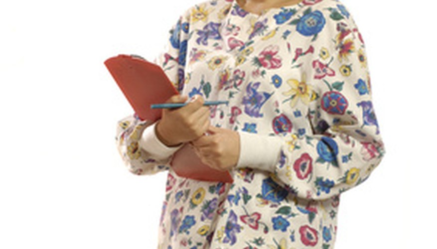 You may be able to deduct nursing uniforms on your taxes.