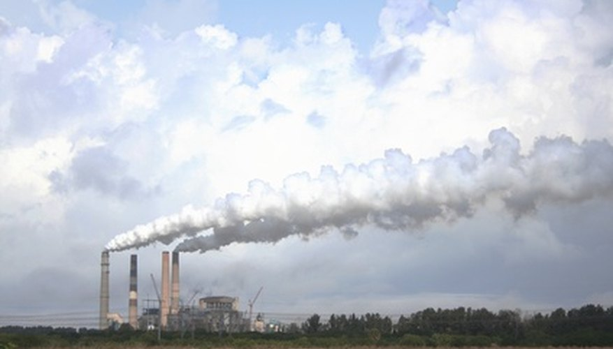 Pollution is one of the results of economic growth.