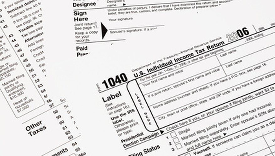 Tax payments may be sent separately from your 1040 form.
