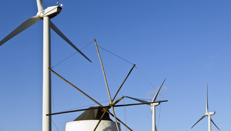 Wind power is becoming a popular alternative source of energy.