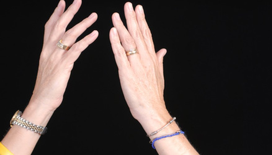 Finger extension allows you to open the hand.
