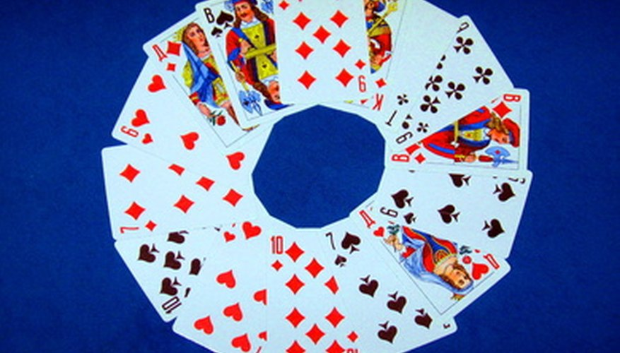Joker Marbles uses a traditional deck of cards.