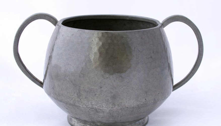 Repair of antique pewter should be left to an expert.