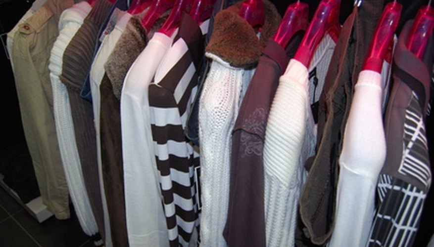 Old clothing provides accessible items for teens to sell in an online auction.