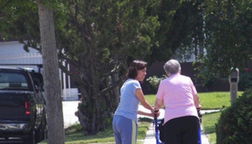 Home health aides can assist older adults in many ways.