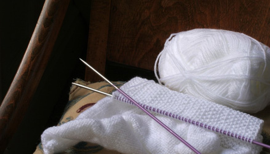 Learn to knit and purl.