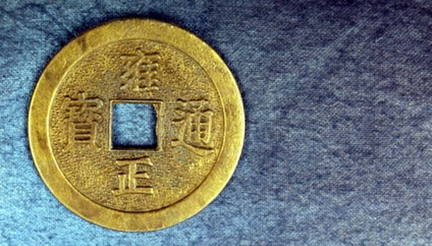 Oriental coins have specific characteristics.