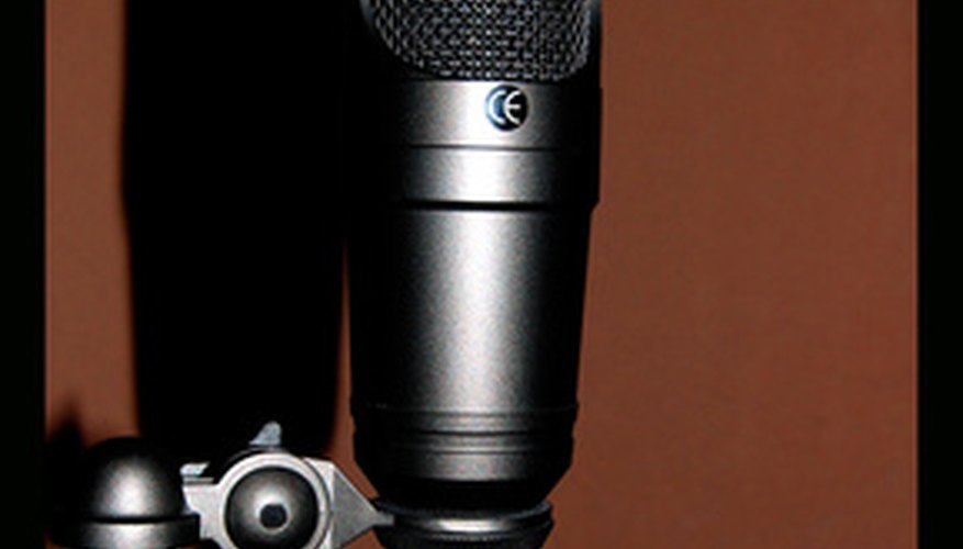 Condenser microphones require 48 volts of power to operate.