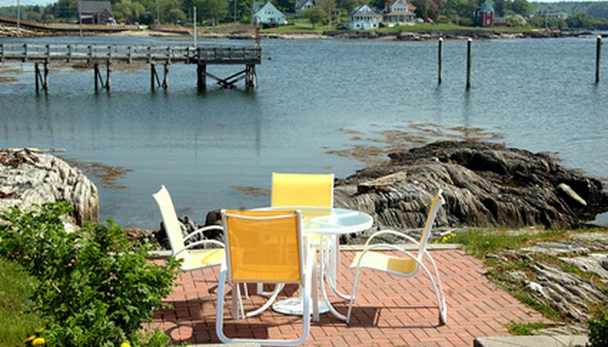 Shop department stores and online for inexpensive patio furniture.