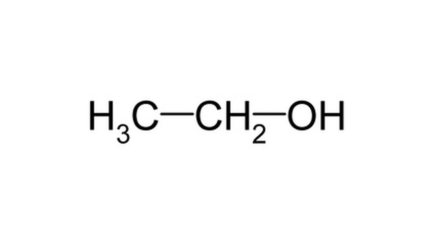 The molecular formula for ethanol.