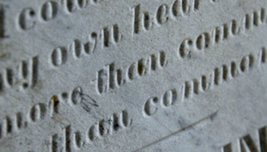 Start a headstone cleaning service to help preserve and protect grave site markers.