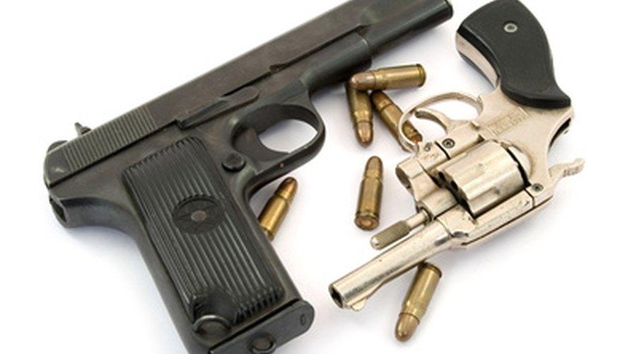 Lighter guns have a higher recoil velocity.