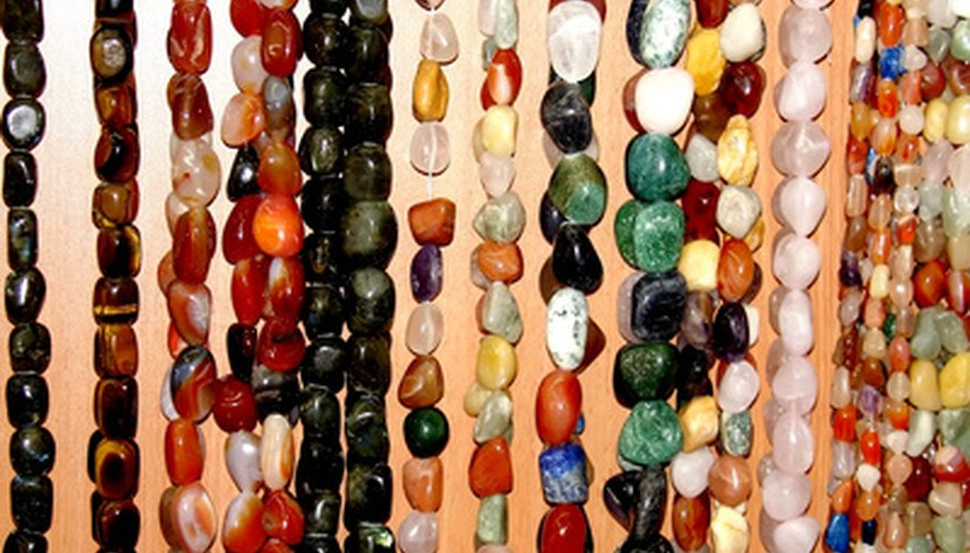 Gemstones can be combined in various ways.