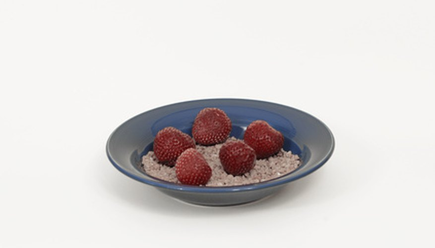Steel-cut oatmeal cereals have a lower GI than old-fashioned oatmeal.