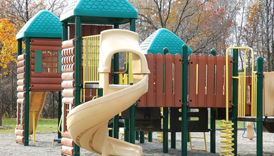 Boys Outdoor Play Area