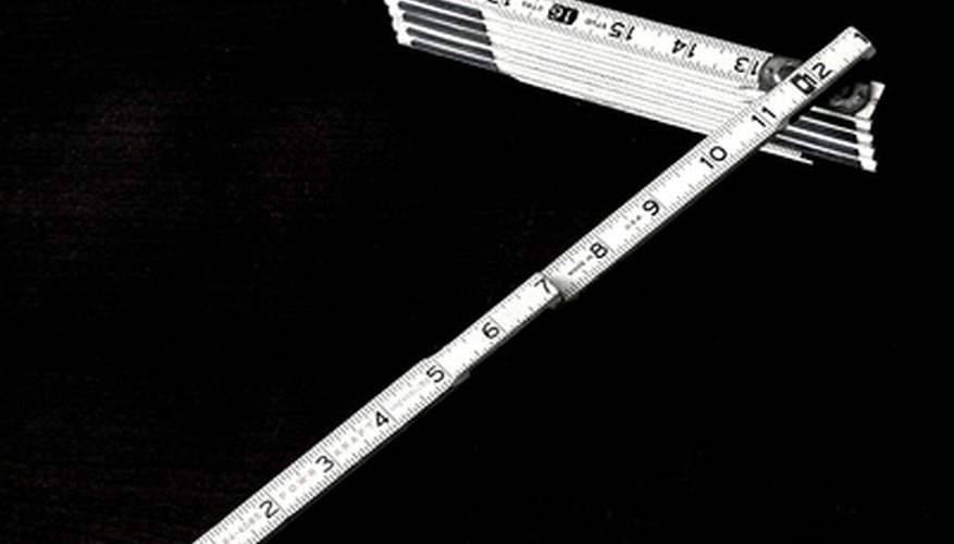 A folding ruler is the precursor to the tape measure.