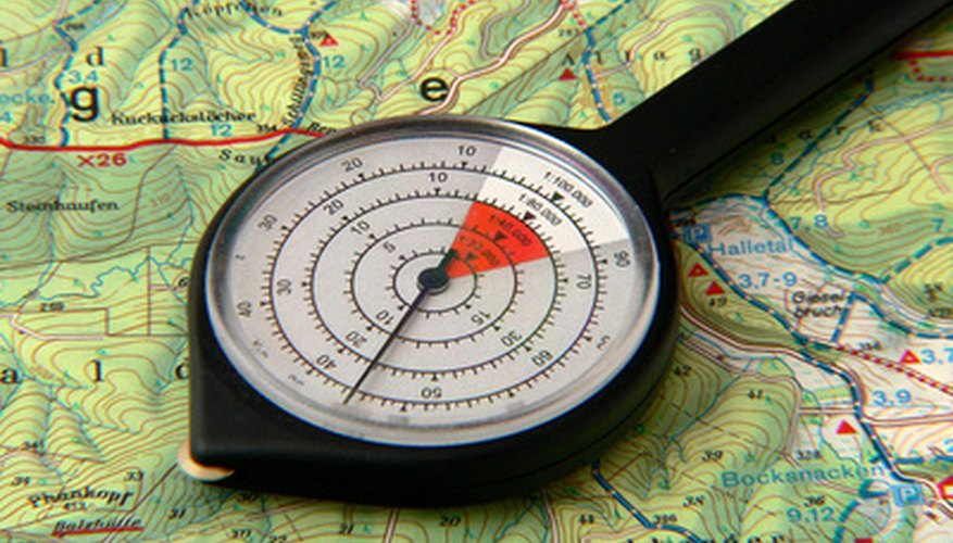 Planning routes is easily accomplished using GPS.