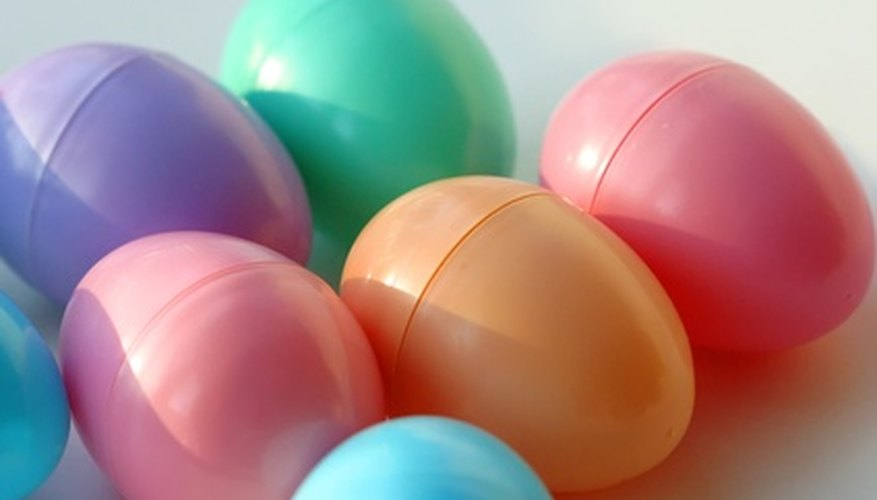 Plastic Easter eggs can be scavenger hunt items.