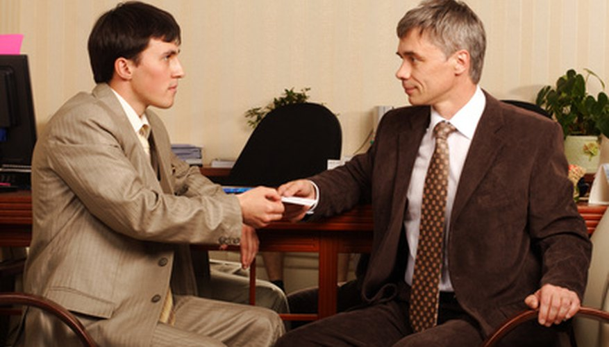 Proper business etiquette dictates that all colleagues are treated as equals.