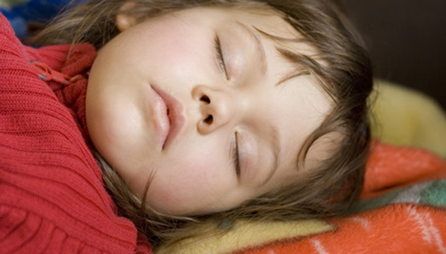Children need plenty of sleep to stay healthy.