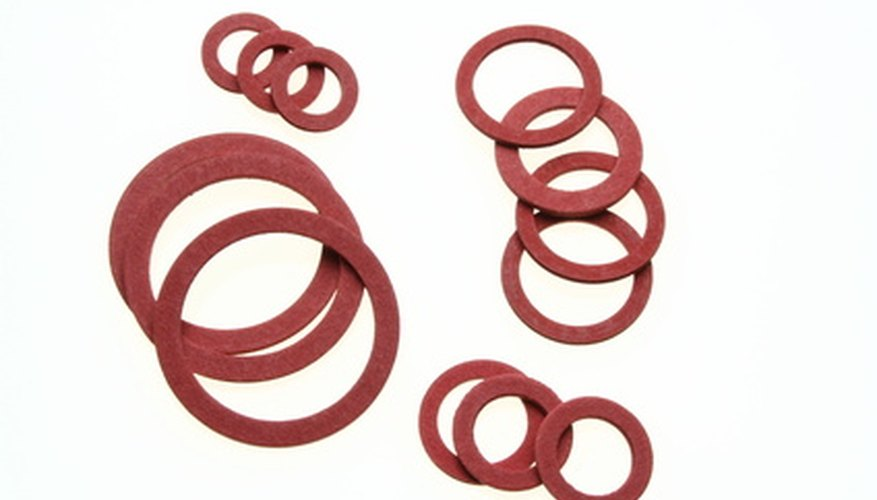 There are many types of rubber seals.
