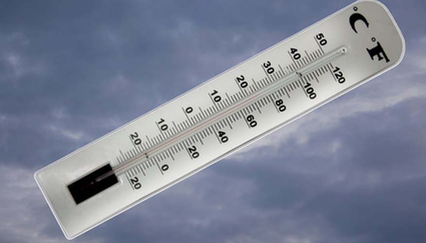 Temperature can change the density of liquids and gases.