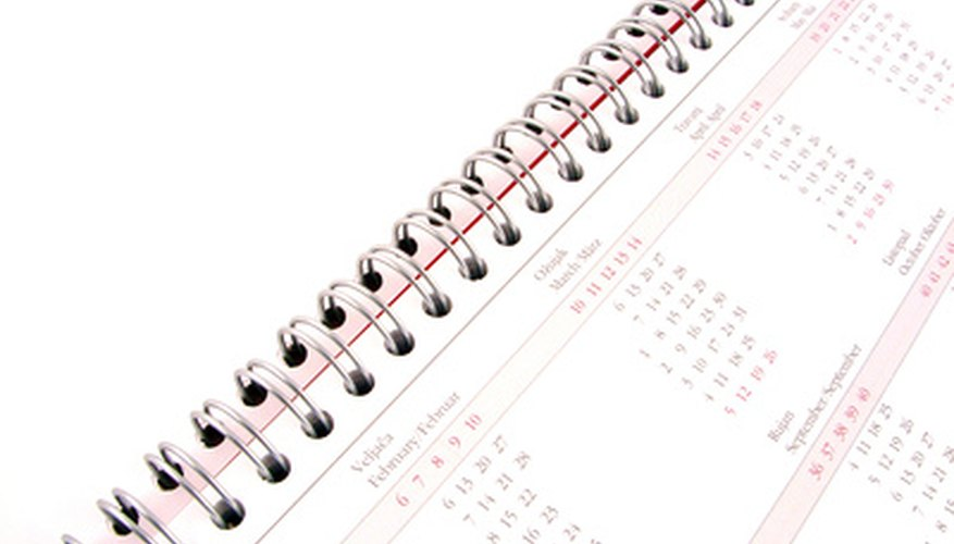 Calculate work days in a period of time