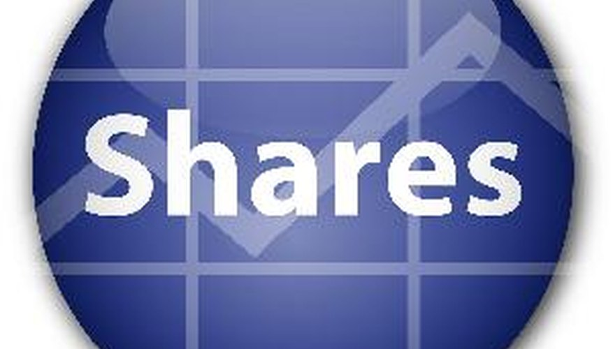 Shares outstanding helps measure the value of a company.