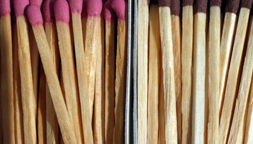The strike face of matches contains red phosphorus.