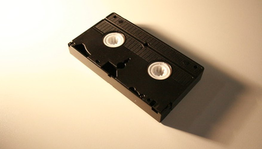 Override the protection on a VHS tape in a few steps.