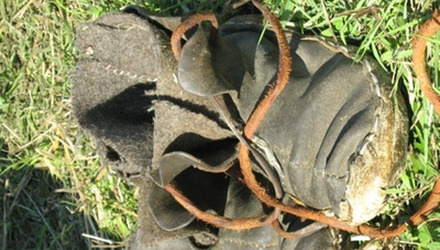 Leather boots are a Native American tradition.