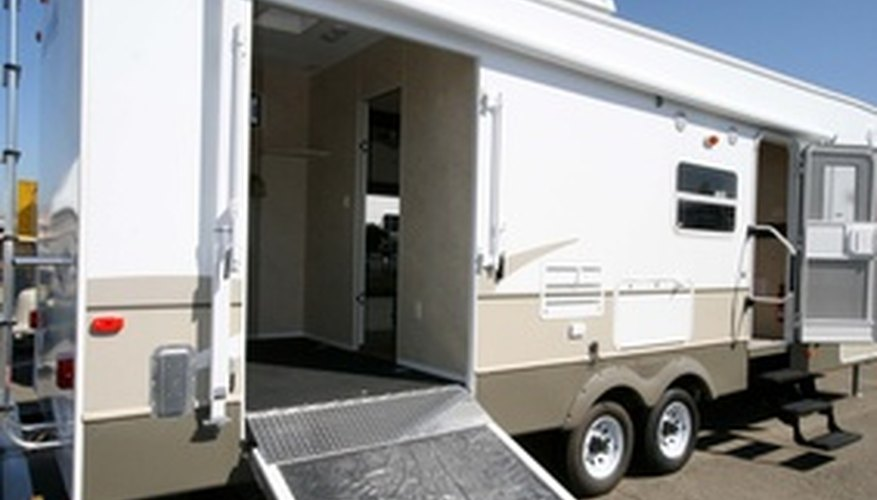 Toy haulers have an ideal space for an office built in.