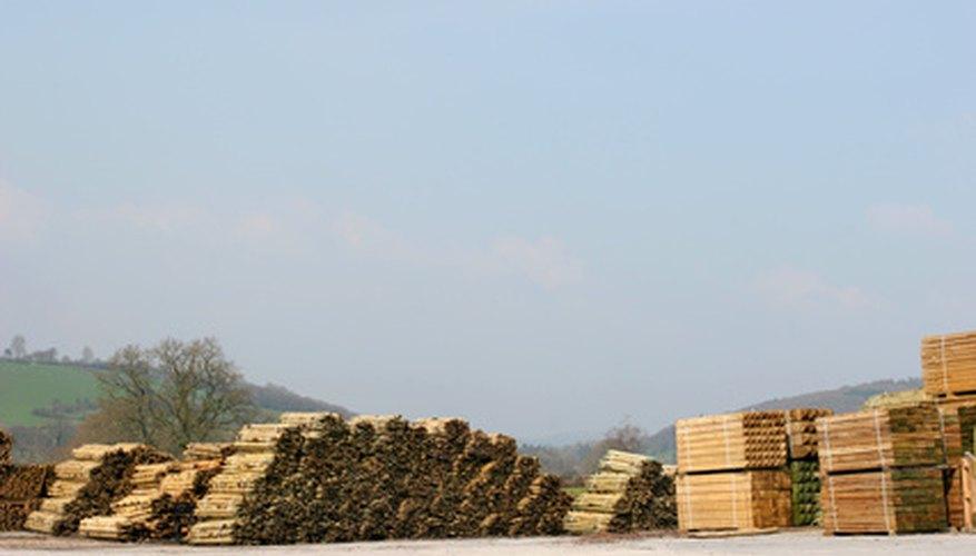 Start a lumber yard.