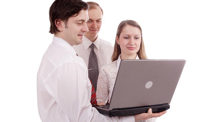 A self-analysis for a business can include input from many different staff members.