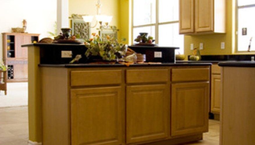 This elegant kitchen features stylish granite countertops.