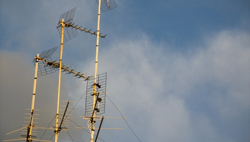 Antenna arrays like this are needed for DX work on VHF/UHF, but you can work the world on HF with a simple wire antenna and a homebuilt coupler.