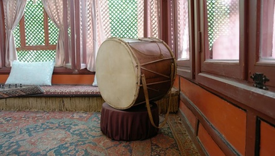 Several different styles of tambora drums have emerged, but the engaging feel of the rhythms remains.