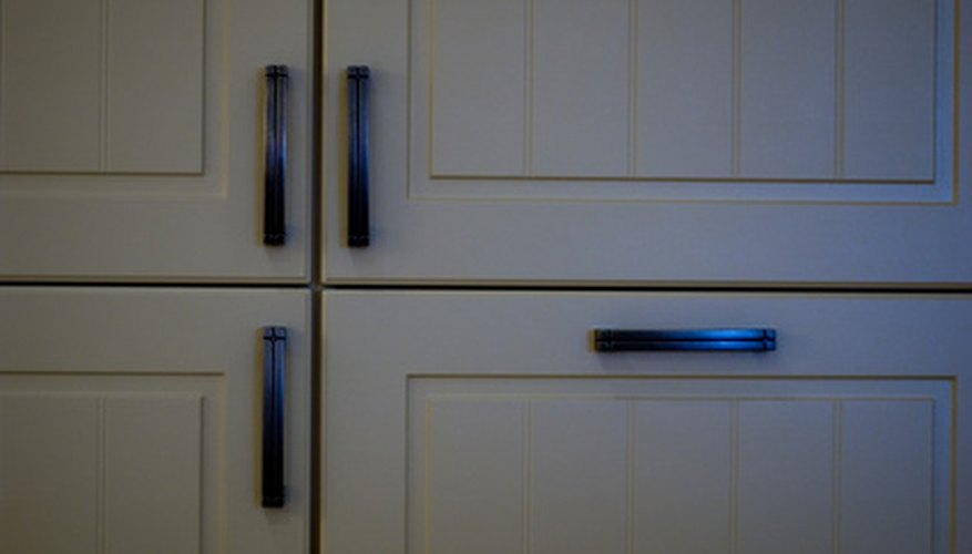 Kitchen cabinet doors.