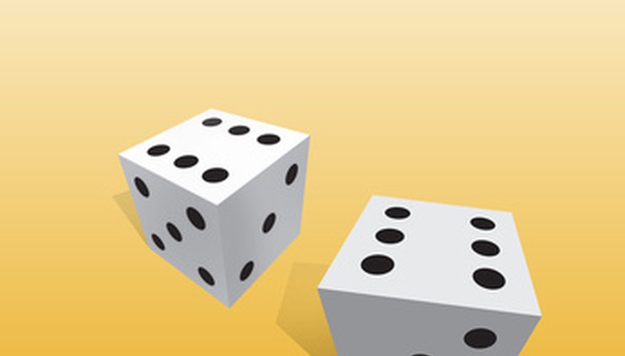 LCR uses three dice, which have letters and dots on them.