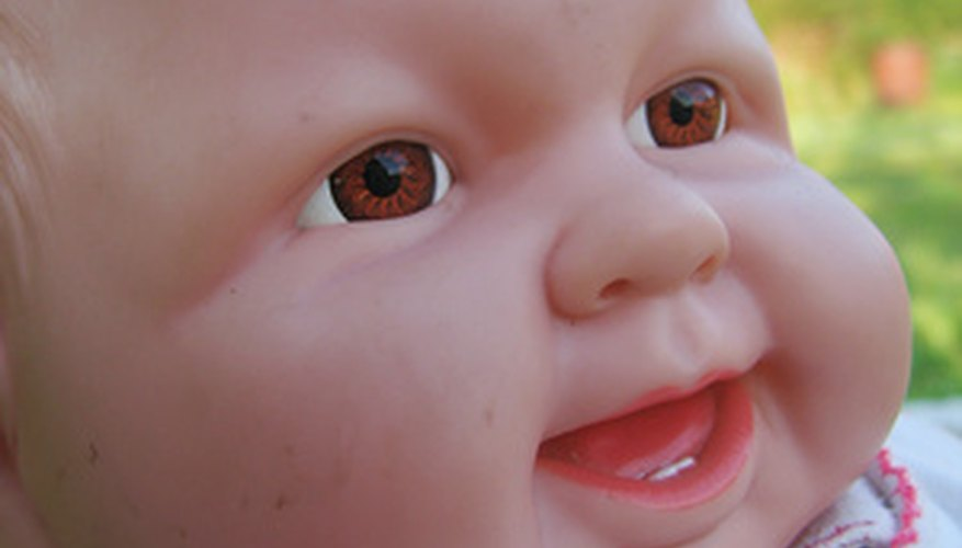 The Baby Alive doll can also take LR6 size alkaline batteries.