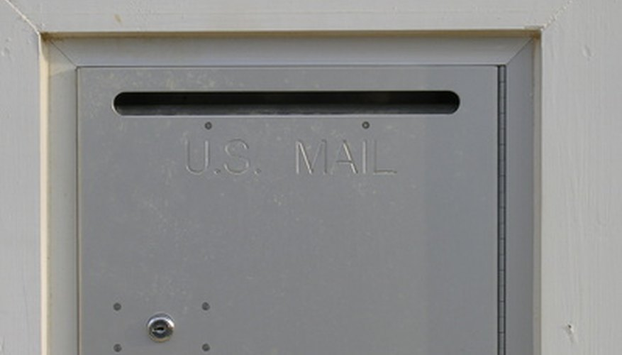 Older mailboxes may have slots too small for large envelopes or parcels.
