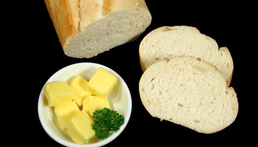 White bread has been processed and is a less healthier option than whole grain breads.