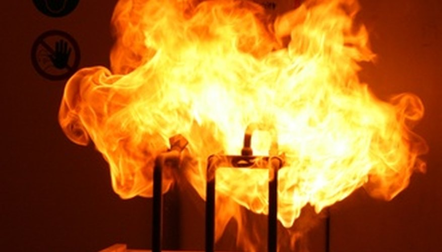 The lower explosive limit of a chemical is the minimum concentration needed to cause an explosion.