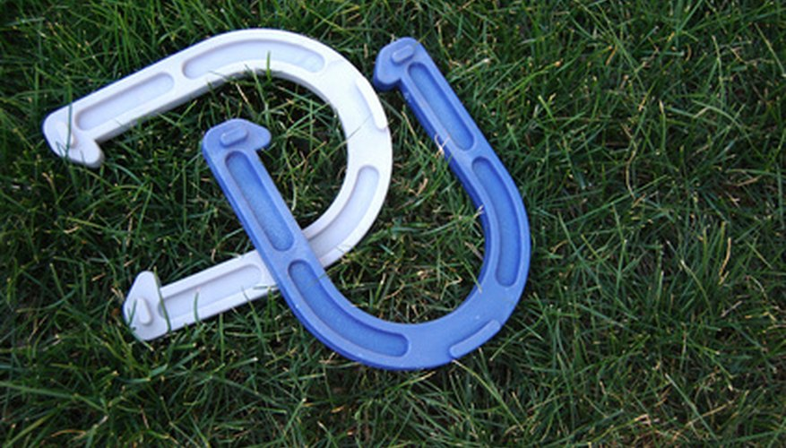 Horseshoes is a fun and easy game to learn and play.