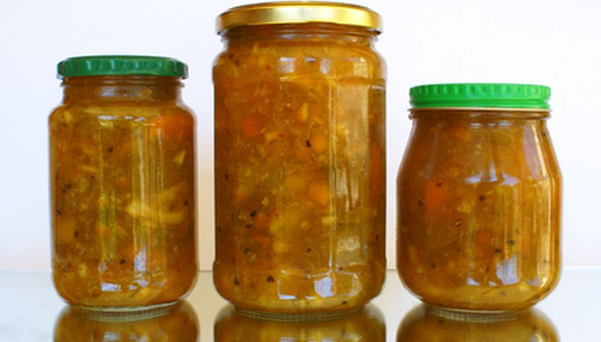 Jars such as these use a screw to ensure a tight seal on their large openings.