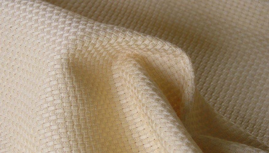A soft, light colored cloth