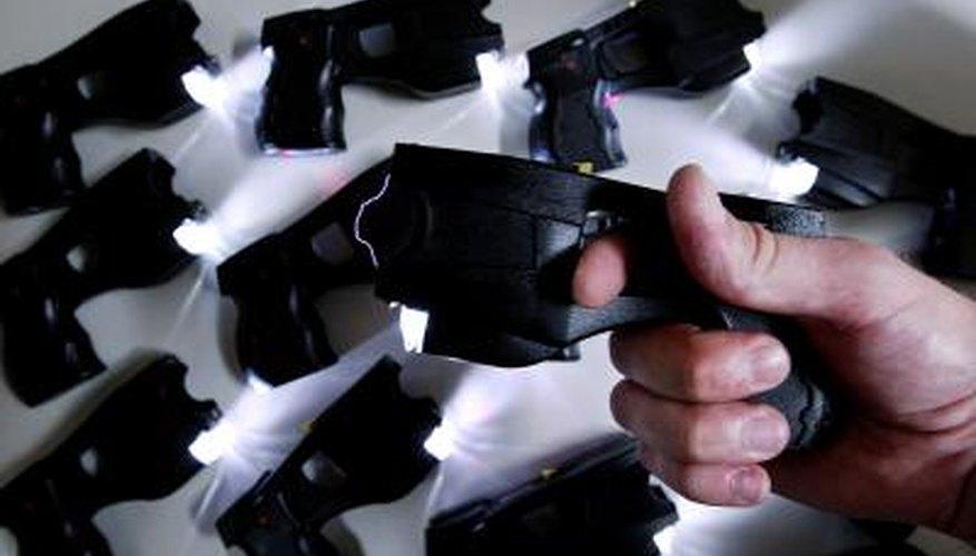 Stun gun display