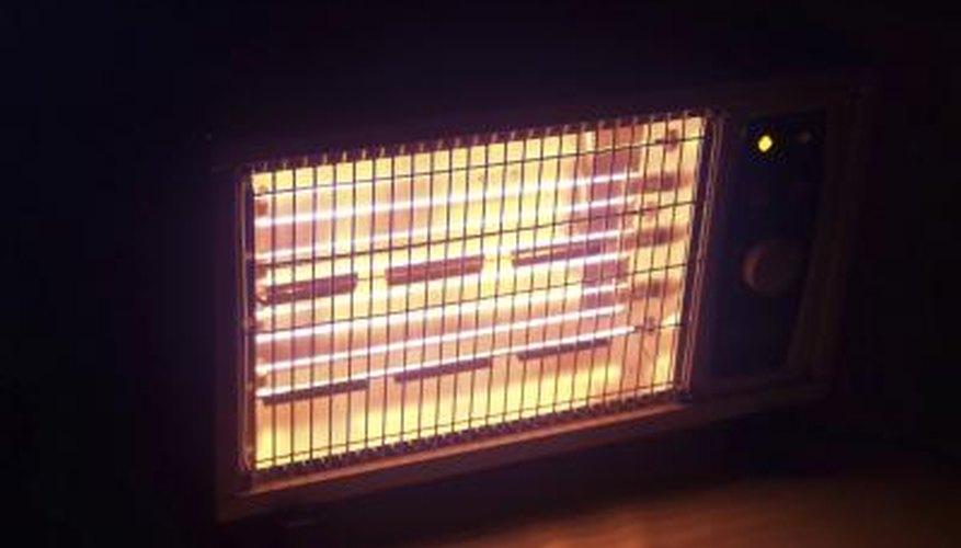 Electric heater.