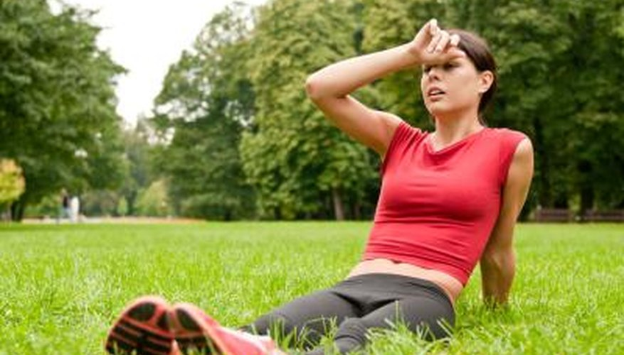 Sever fatigue during exercise may be a symptom of low blood pressure.