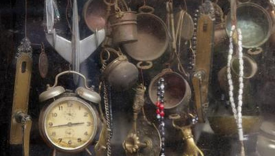Antique Items In A